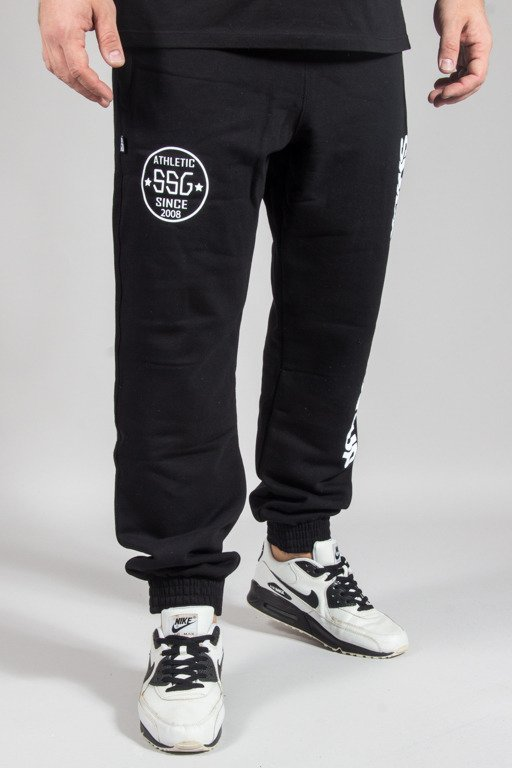 SSG SWEATPANTS JOGGER VERTICAL BLACK