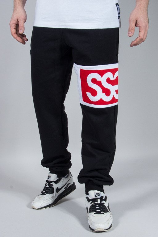 SSG SWEATPANTS PREMIUM DOUBLE SSG BLACK