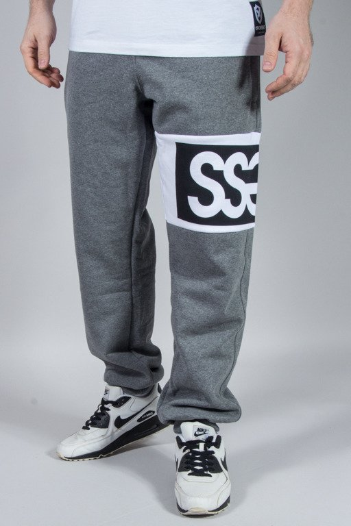 SSG SWEATPANTS PREMIUM DOUBLE SSG GREY