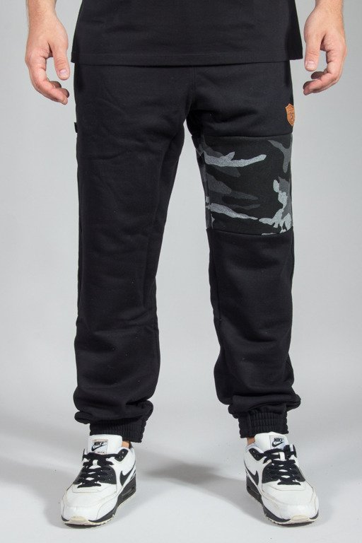 SSG SWEATPANTS PREMIUM JOGGER MORO PART CAMO GREY BLACK