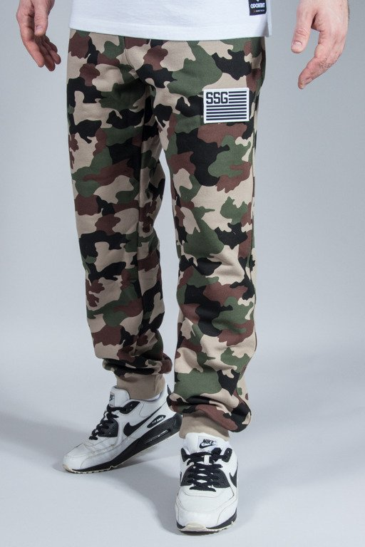 SSG SWEATPANTS PREMIUM REGULAR MORO FLAG CAMO