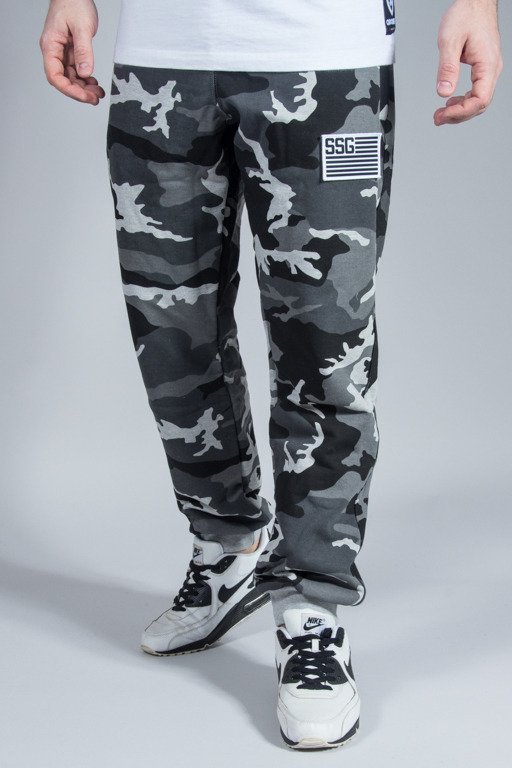 SSG SWEATPANTS PREMIUM REGULAR MORO FLAG CAMO GREY