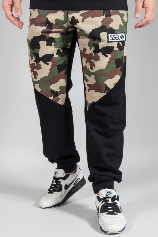 SSG SWEATPANTS PREMIUM REGULAR MORO FRONT BACK CAMO