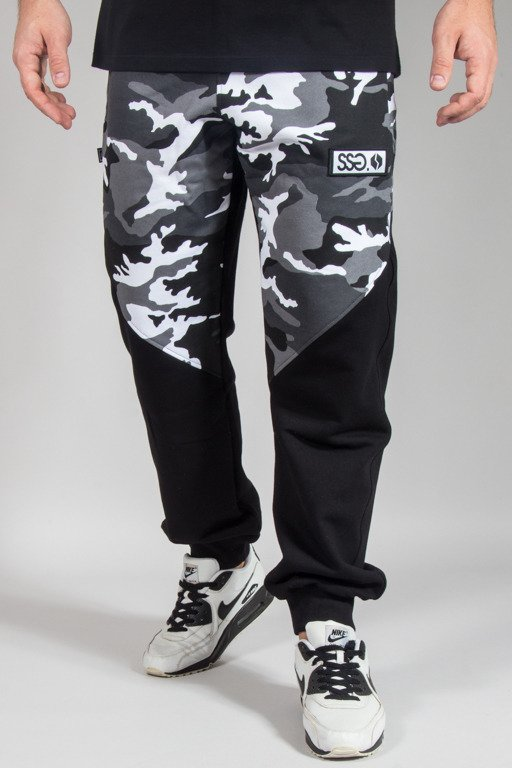 SSG SWEATPANTS PREMIUM REGULAR MORO FRONT BACK CAMO GREY