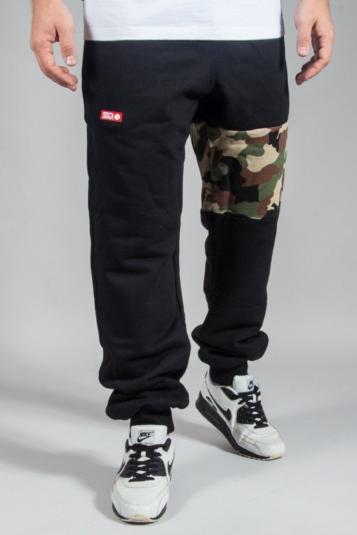 SSG SWEATPANTS PREMIUM REGULAR MORO PART BLACK CAMO