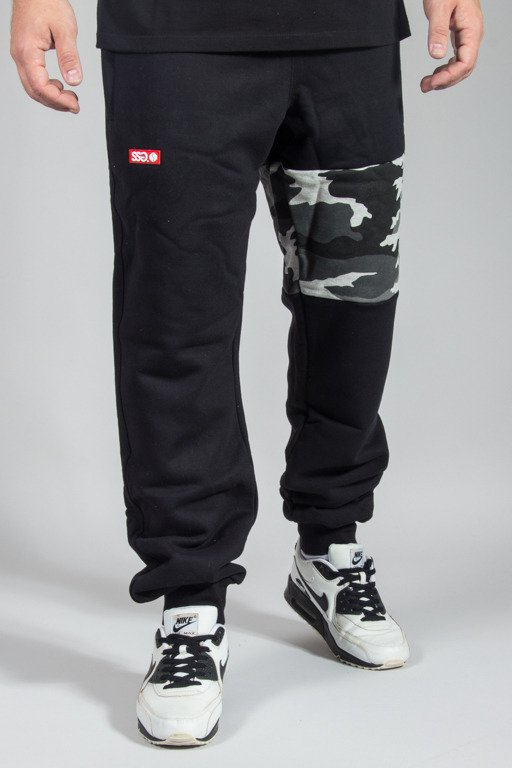SSG SWEATPANTS PREMIUM REGULAR MORO PART BLACK CAMO LIGHT GREY