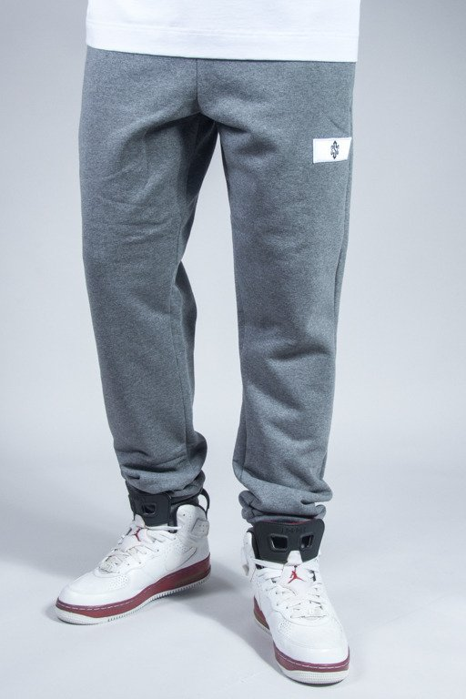 SSG SWEATPANTS SLIM SIGN GREY