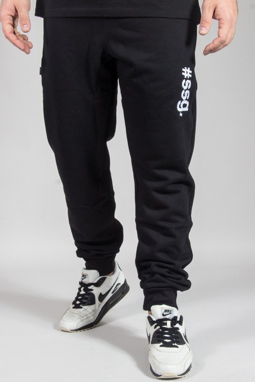 SSG SWEATPANTS SLIM #SSG BLACK