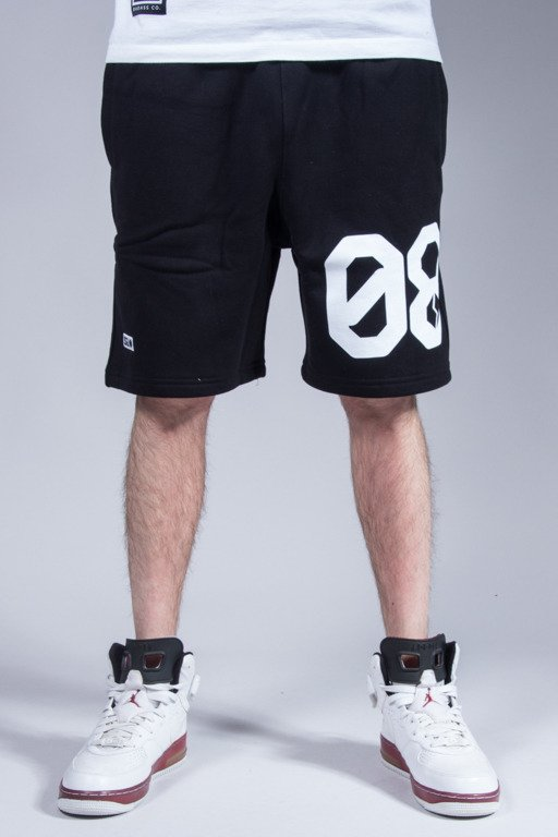 SSG SWEATSHORTS 08 BLACK