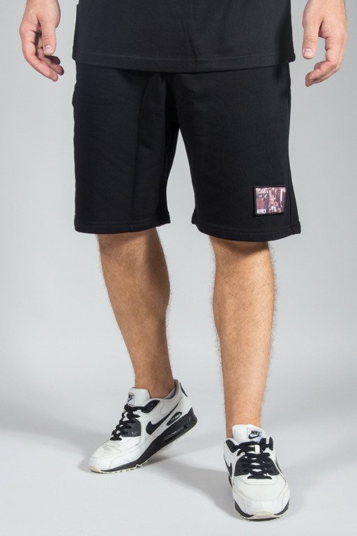 SSG SWEATSHORTS CITY BLACK