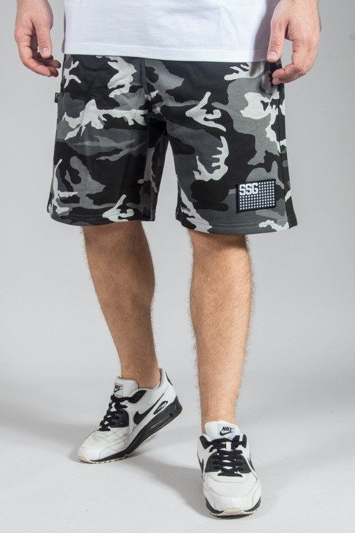 SSG SWEATSHORTS MORO FLAG BLACK