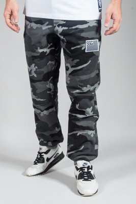 SSG SWESTPANTS PREMIUM REGULAR MORO FLAG CAMO DARK GREY