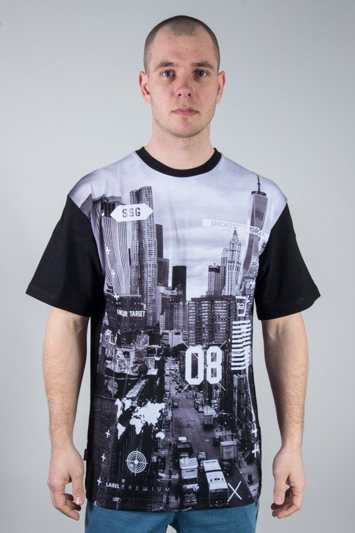 SSG T-SHIRT CITY BW BLACK