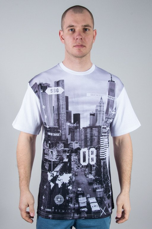 SSG T-SHIRT CITY BW WHITE