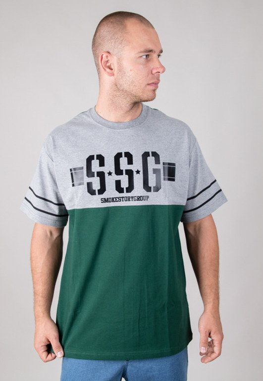 SSG T-SHIRT CLASSIC POCKET GREY-GREEN