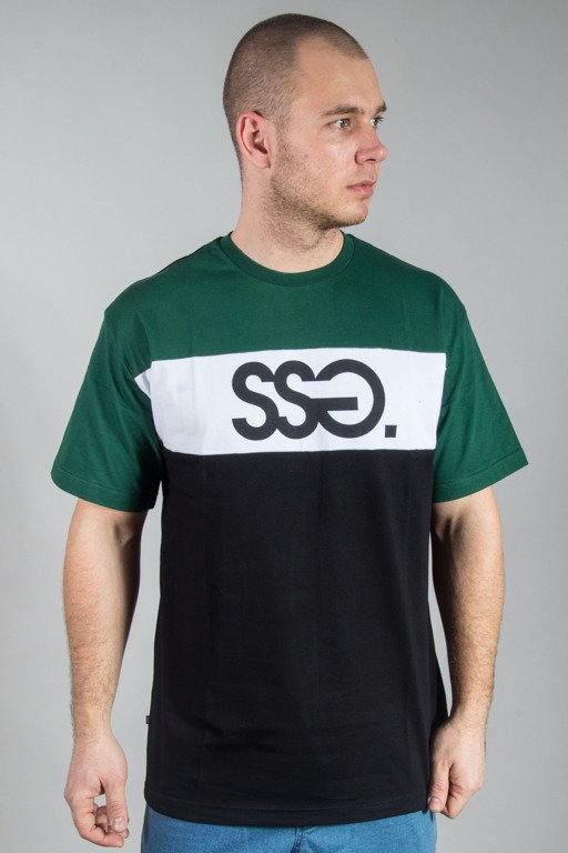 SSG T-SHIRT COLOR BLACK-GREEN