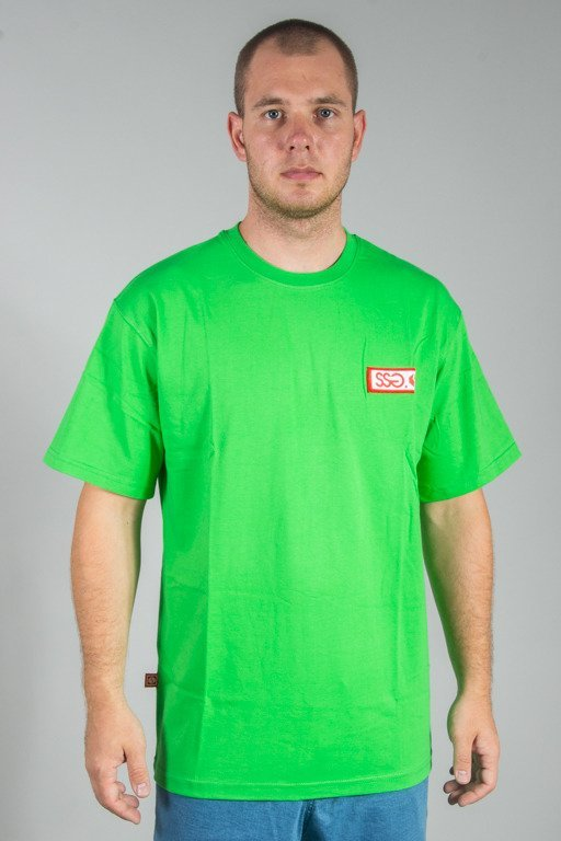 SSG T-SHIRT COLOR LOGO GREEN