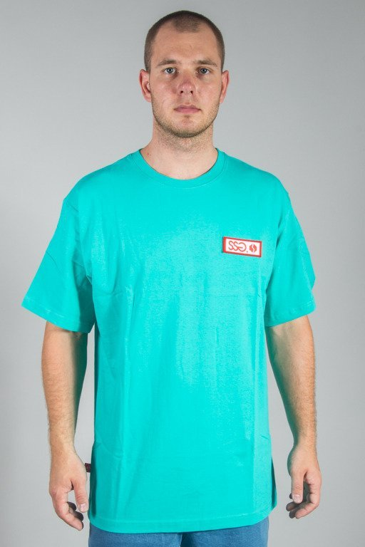 SSG T-SHIRT COLOR LOGO MINT