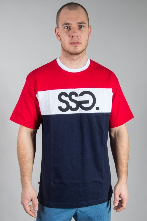 SSG T-SHIRT COLOR NAVY-RED