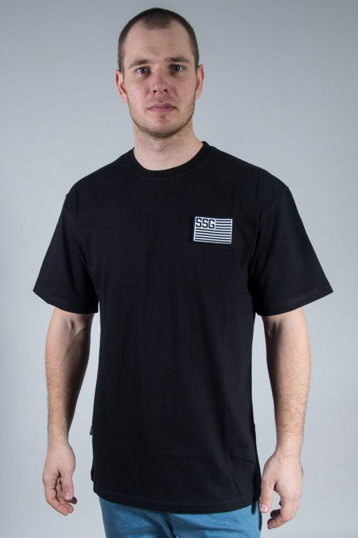SSG T-SHIRT FLAG BLACK