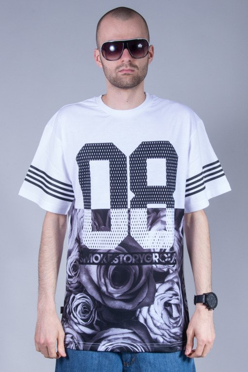 SSG T-SHIRT HALF ROSE WHITE