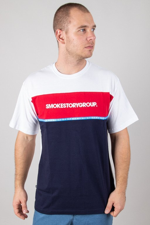 SSG T-SHIRT ONE LINE WHITE-NAVY