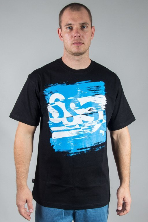SSG T-SHIRT PAINT TAG BLACK