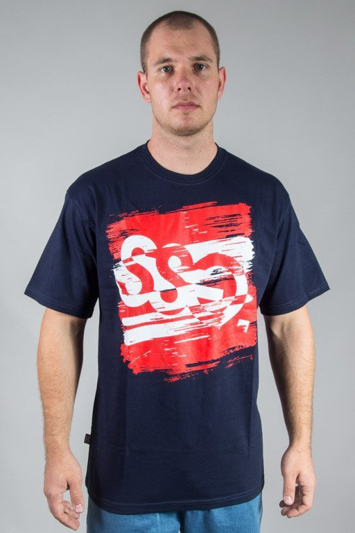 SSG T-SHIRT PAINT TAG NAVY