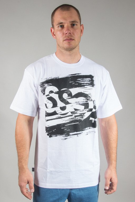 SSG T-SHIRT PAINT TAG WHITE