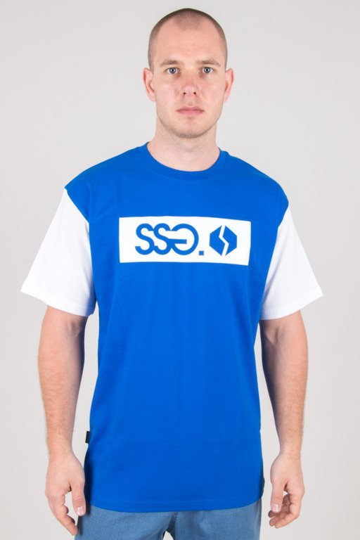 SSG T-SHIRT SLEEVE SSG LOGO BLUE