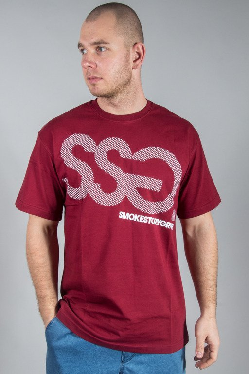 SSG T-SHIRT SSG DOTS BRICK