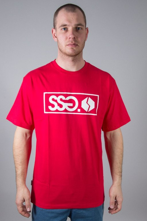 SSG T-SHIRT STREET COLORS CLASSIC RED