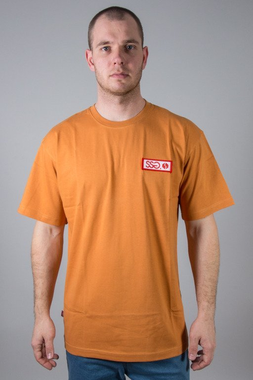 SSG T-SHIRT STREET COLORS LOGO BROWN