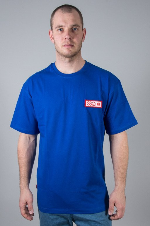 SSG T-SHIRT STREET COLORS LOGO NAVY