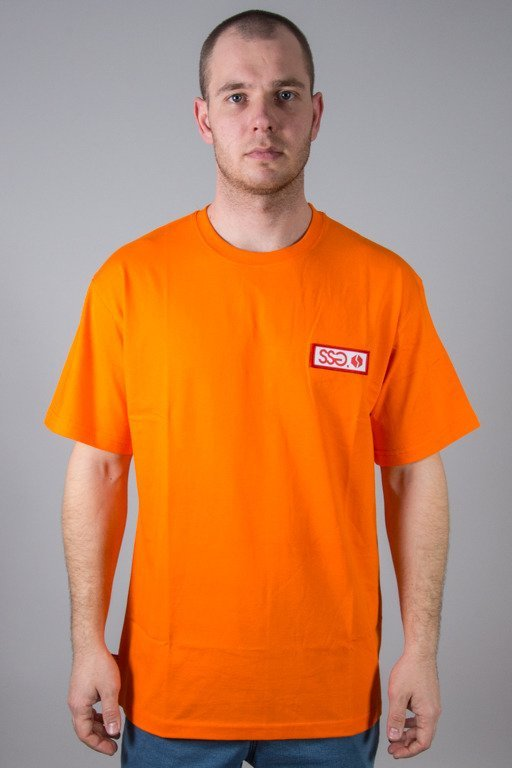 SSG T-SHIRT STREET COLORS LOGO ORANGE