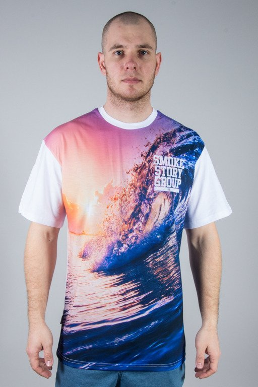 SSG T-SHIRT WAVES WHITE
