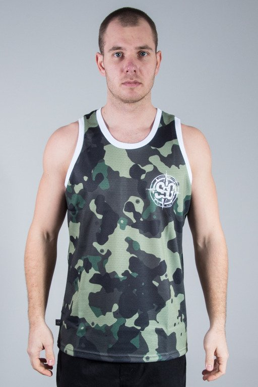 SSG TANK TOP FULLPRINT MORO GREEN