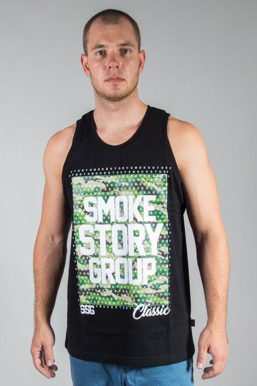 SSG TANK TOP SMOG MORO DOTS BLACK