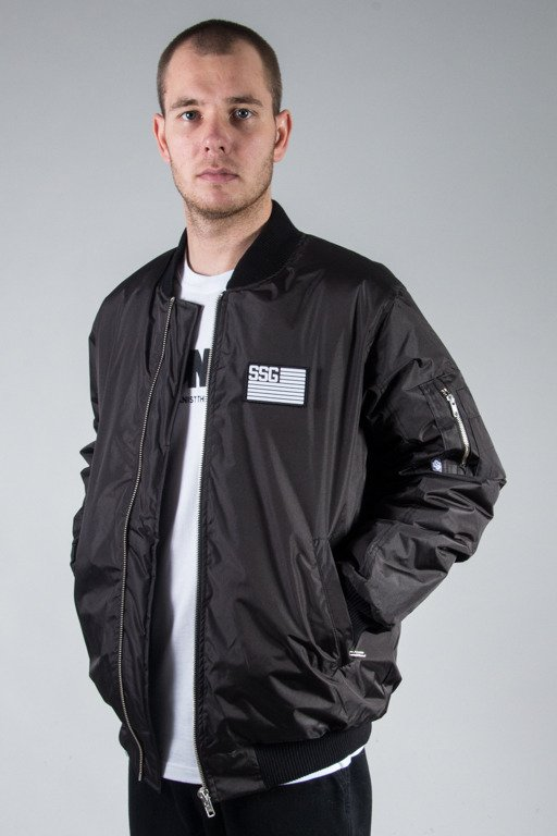 SSG WINTER JACKET FLAYERS BASEBALL BLACK