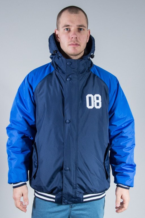 SSG WINTER JACKET FLYER DOUBLE REGLAN NAVY-BLUE