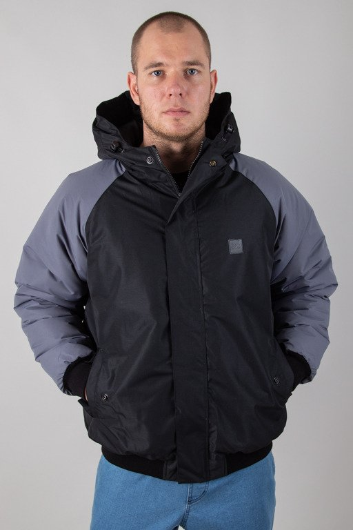 SSG WINTER JACKET FLYERS DOUBLE REGLAN BLACK-GREY
