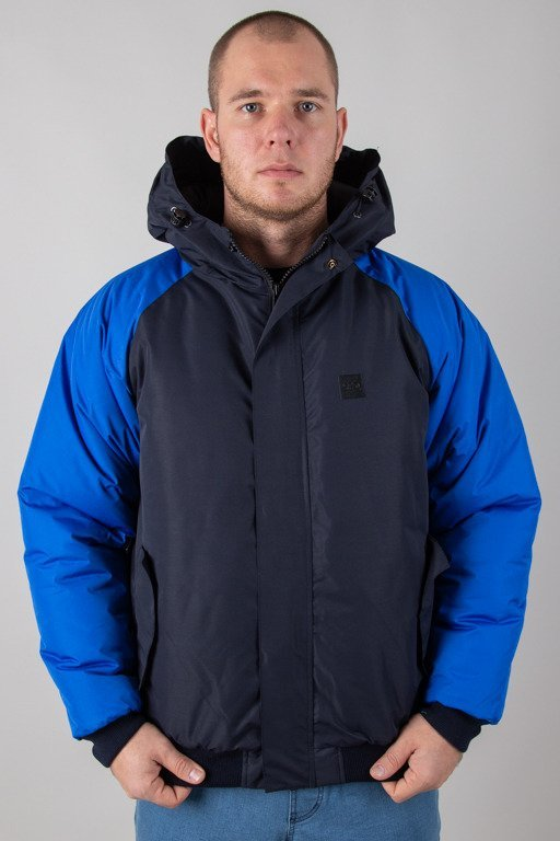 SSG WINTER JACKET FLYERS DOUBLE REGLAN NAVY-BLUE