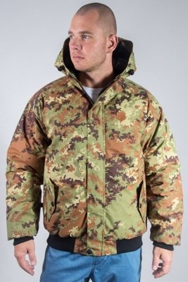 SSG WINTER JACKET FLYERS HERB MORO LEŚNE CAMO