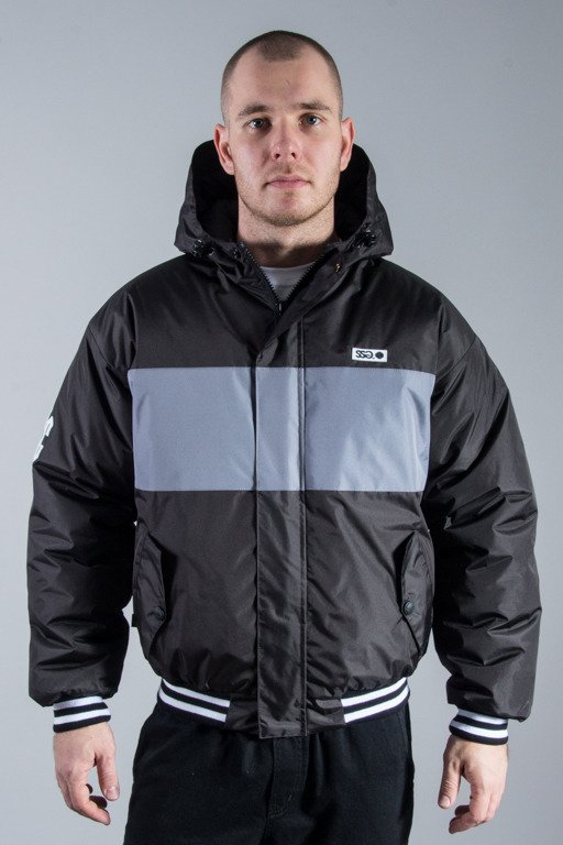 SSG WINTER JACKET FLYERS LINE BLACK-GREY