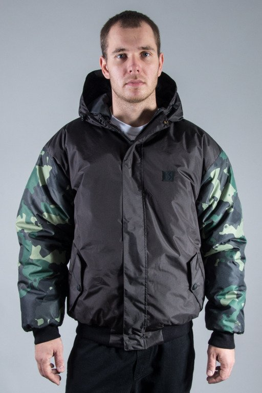SSG WINTER JACKET FLYERS MORO SLEEVES BLACK