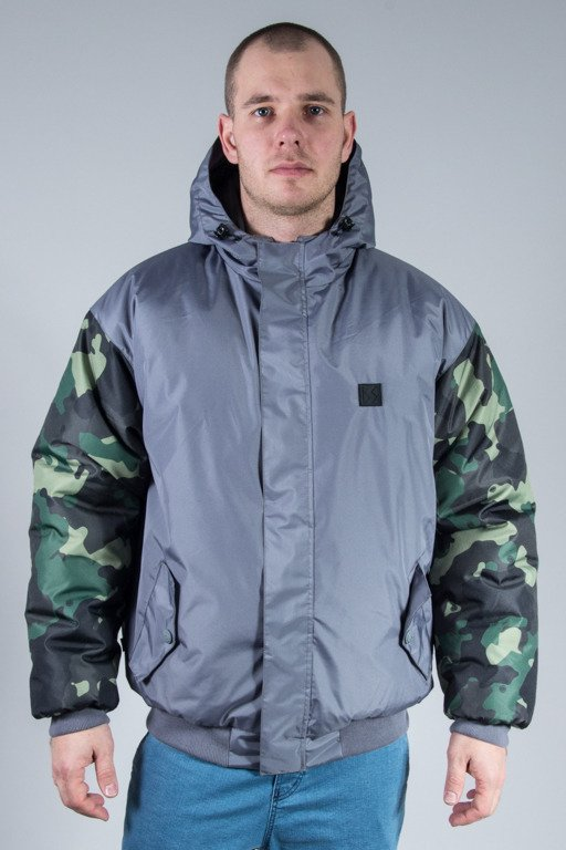 SSG WINTER JACKET FLYERS MORO SLEEVES GREY