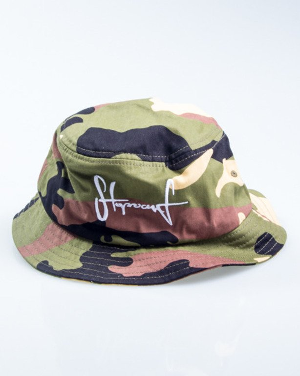 STOPROCENT BUCKET HAT CAMO