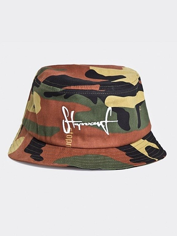 STOPROCENT BUCKET HAT TAG CAMO