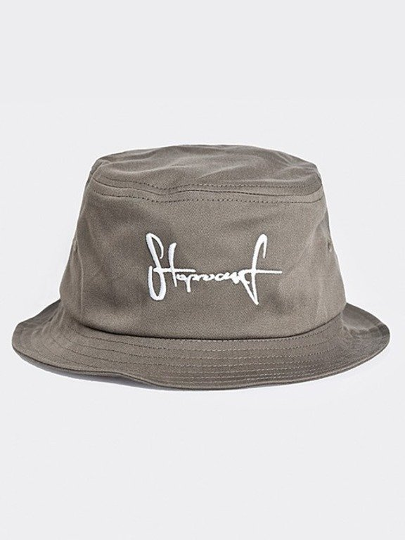 STOPROCENT BUCKET HAT TAG KHAKI
