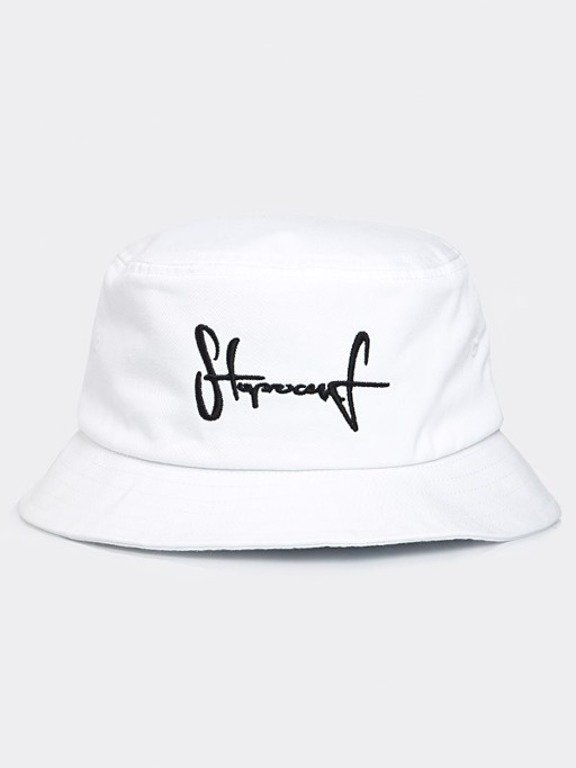 STOPROCENT BUCKETHAT WHITE